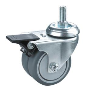 China twin wheels trolley caster on sale