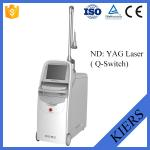 Medical Q Switched Nd Yag Laser Tattoo Removal Machine With Big Spot Size Treatment