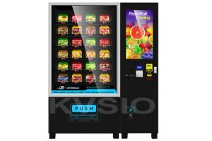 China Multi Payment Healthy Food Vending Machine Intelligent Convey For Salad / Vegetable on sale
