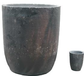 China Graphite Crucible for Melting Gold Silver Metal supplier