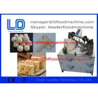 Snack Vegetarian Granola Bar Making Machine / Production Line , 100-120kg/h