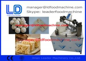 China Automatic Healthy Puffed Snack Making Machine of Twin screw Extruder on sale