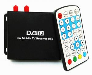 China Ouchuangbo  Car DVB-T2 TV Receiver Dual Tuner For Car DVD High Speed Mpeg4 Car Digital TV Box Tuner Auto Mobile on sale
