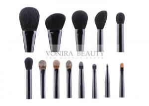 China Heavenly Luxurious 13 Piece Custom Makeup Brushes Animal Hair Handmade on sale