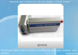 China Wavecom GSM modem RS232 modem low cost gsm modem  with Q2303 on sale