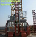 2t load construction elecator material hoist