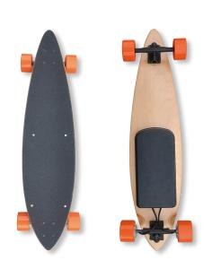 China Dual-motor Two-speed-mode Electric Skateboard for Beginners and Experts on sale