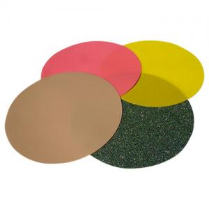 China High Durability Green Fiber Optic Polishing Film With Diamond Abrasives on sale