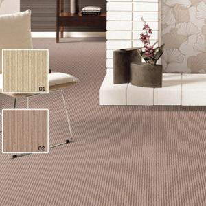 Non Woven Wool Berber Carpets 90% Polyester , Hotel Wall To Wall Carpet