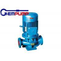 China ISG cold / hot water vertical fire-fighting booster pump remote water supply warming systems on sale