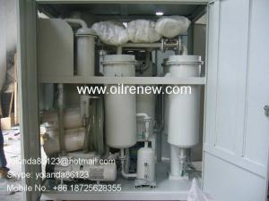 China Aging Turbine Oil Regeneration Purifier, Turbine Oil Cleaning Plant Series TY-R on sale