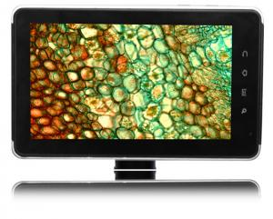 China 2MP COMS Sensor Smart Microscope Pad Camera with Google Android 2.2 (7 inch) on sale