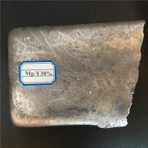 China Mg-Y Mg-Y 30 Magnesium Yttrium Master Rare Earth Alloy Semi - Casting Process on sale