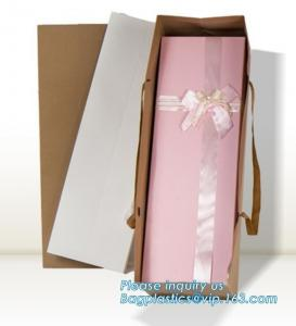 China Wholesale Durable Colorful Custom Printed Cake Packaging Gift Paper Bag With Flower, Tote Carrier Gift Bags bagease pac on sale