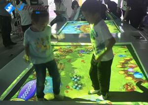 China Trampoline Interactive Floor Projector With One Camera Wireless Mouse Keyboard on sale