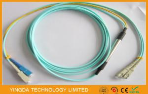 China SC- SC Mode Conditioning Patch Cord Duplex 50 / 125um OM3 10G Fiber Optic Cable on sale