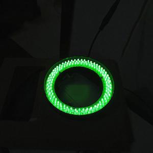 China Green lightness microscope ring led light 520nm wave length bigger diameter ring lamp on sale