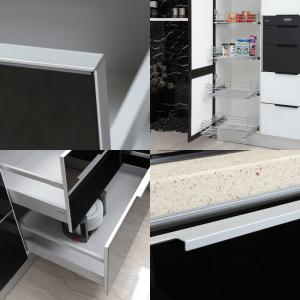 China 2014 Greenhome Modern Series Tempered Acrylic Kitchen Cabinet on sale