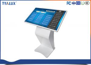 Quality 1080P multi touch surface Free Standing Digital Signage , interactive touch kiosk for sale