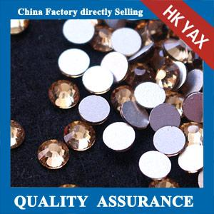 China non hot fix stone flat back,topaz flat back non hot fix stone,non hotfix crystal stone on sale