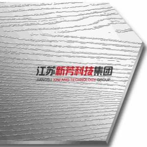 China Short Line Crystal Embossed Stainless Steel Press Plate 3-6mm Thickness on sale
