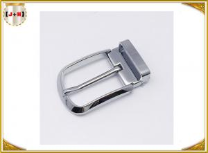 Quality Various Colors Noble Metal Belt Buckle , Solid Silver Color Belt Buckle for sale