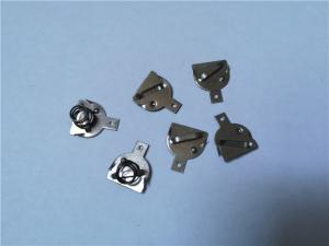 China Precissive Nickel Plate AA Battery Holder Stamping Parts Battery Cover Plate on sale