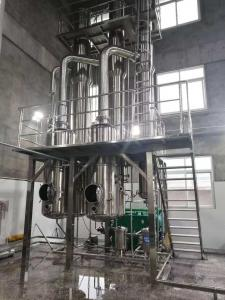 China CBD Extraction Ethanol Recovery External Circulation Evaporator on sale