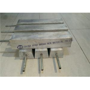 Quality Magnesium sacrificial anode used in  protecting one steel hull for sale