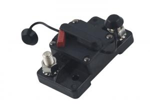 China E92 wide surface mount 20a 200a 48v dc thermal trip manual reset dc car circuit breaker on sale