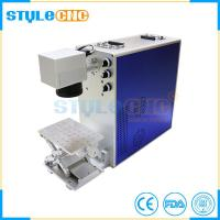 Alumium steel marking laser marking machine with good price for sale