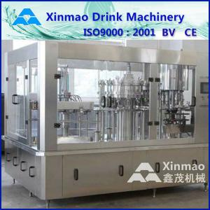 China 3 In 1 Full Automatic Beverage Filling Machine For PET Bottle on sale