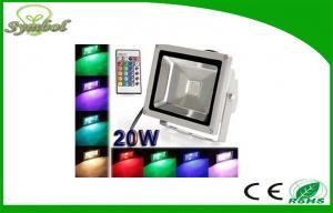 China 5500k 60 Hz RGB Led Flood Light 20W With Epistar Led , commercial led flood lights on sale