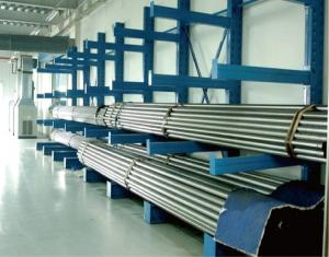 China Roller  Cantilever Storage Rack System  , Tire Cantilever Pallet Rack Shelving  Galvanized on sale