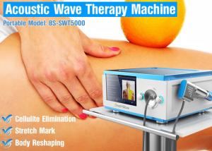 China Vertical Cellulite Elimination Acoustic Wave Therapy Device Painless Treatment on sale