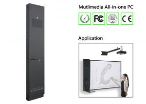 China Smart Teaching Multimedia All in One PC , Intergrated Interactive Board Touch PC All in One on sale