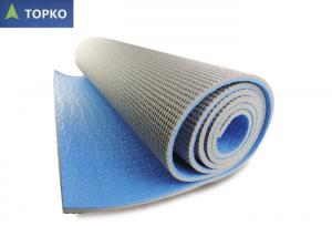 China Outdoor Fitness Recycled Yoga Mat Sticky , Biodegradable Gym Exercise Mats on sale