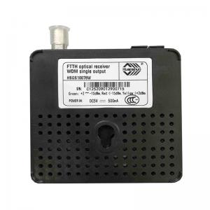 China HSGS10076W Ftth Fiber Optic WDM Single Output 82×82×25 Structure Size on sale