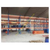 China Corrosion protection Warehouse Storage Racks , Commercial Steel Selective Pallet Rack on sale