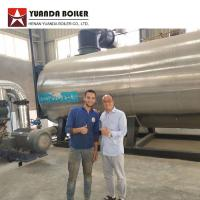 7000KW Industrial Three Pass Oil Thermal Oil Boiler For Textile Factory