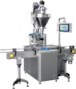 China PLC Control Semi Automatic Bottle Filling Machine With Liquid Level Alarm on sale