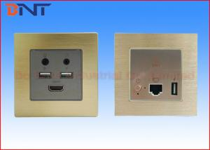 China Bluetooth Mini Wall Socket Plates with USB Power Charger 5 V 2.1 A on sale