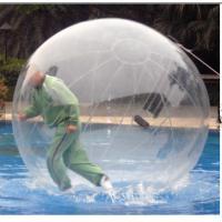 TPU / PVC Walking Human Hamster Ball Inflatable Running Water Bubble Roller