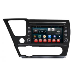 China Camera Input SWC Honda  Navigation System Android Car DVD Player for 2014 Civic Sedan on sale