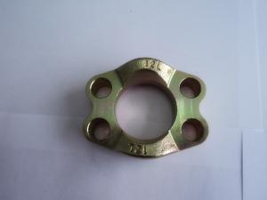 China 1 Inch FL / FS  Split SAE Flange Clamps , Carbon Steel Hydraulic Pipe Fitting FL12 on sale