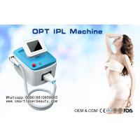 Portable SHR IPL Hair Removal Machine / OPT IPL Photo Rejuvenation System