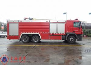 Gross Weight 28000kg Water Tanker Fire Truck With 12000kg Capacity