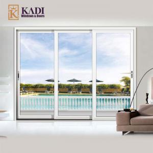 China Premium Aluminium Sliding Patio Doors For Villa Model: 132 on sale
