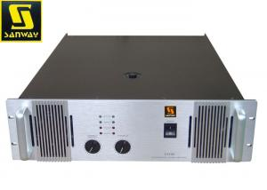 China 3U Professional PA System Amplifier ,  3 Step H 2 Channel Stereo Amplifier on sale