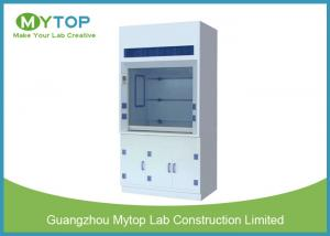 China 6 Feet PP Chemical Fume Cupboard For Hospital Harmful Chemical Air Extraction on sale